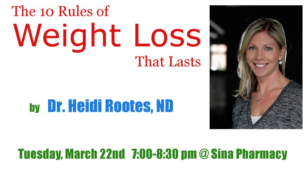 Event on Weight Loss